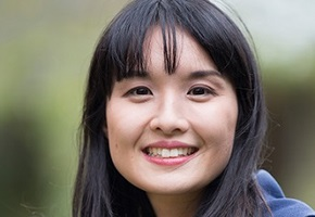 A portrait of Alice Pung