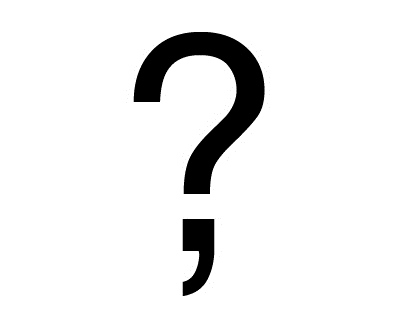 A picture of a question mark