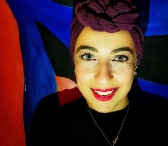 A portrait of Sara Saleh