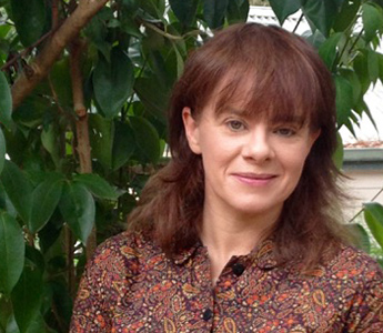 A portrait of Carrie Tiffany